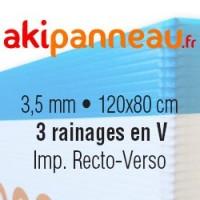 120x80 cm •3 rainages •Recto-Verso