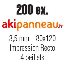 80x120 cm •200 ex •Recto...
