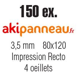 80x120 cm •150 ex •Recto...