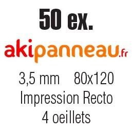 80x120 cm •50 ex •Recto •...