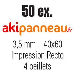 40x60 cm •50 ex • Recto •...