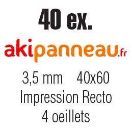40x60 cm •40 ex • Recto •...
