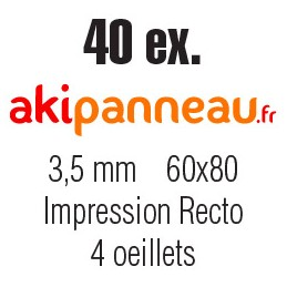60x80 cm •40 ex •Recto •...